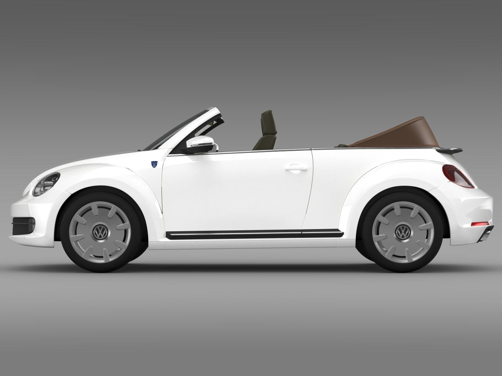 karmann beetle cabrio 2014 3d model flatpyramid. Black Bedroom Furniture Sets. Home Design Ideas
