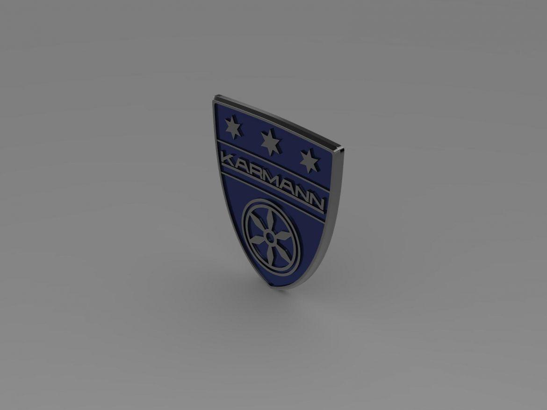 karmann logo 3d model 3ds max fbx c4d lwo ma mb hrc xsi obj 163042