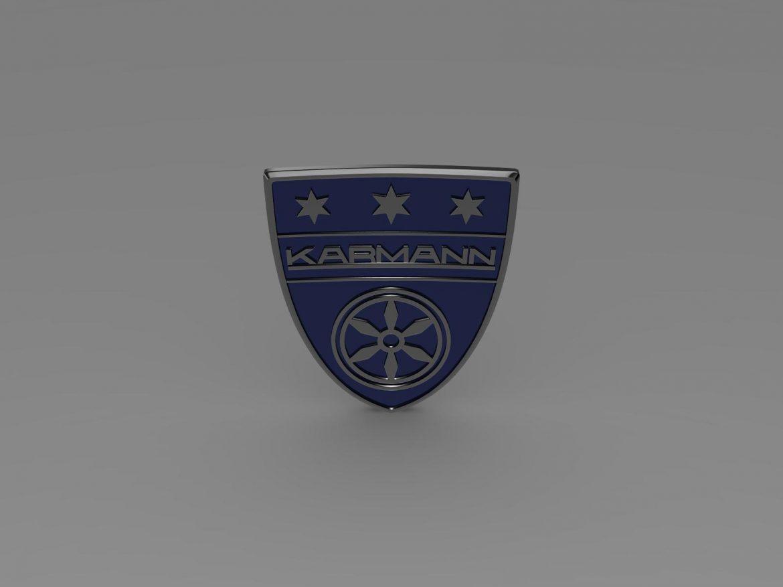 karmann logo 3d model 3ds max fbx c4d lwo ma mb hrc xsi obj 163043