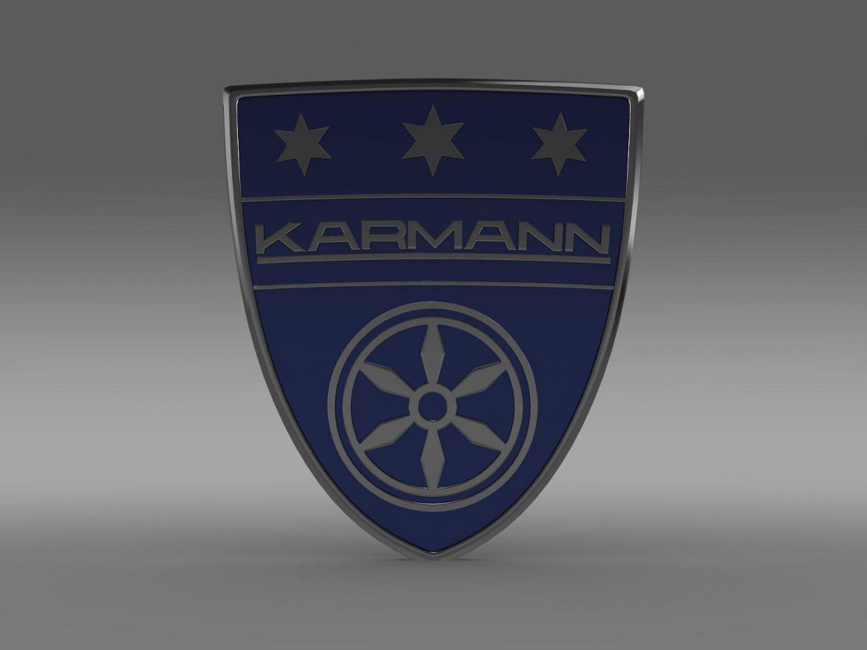 karmann logo 3d model 3ds max fbx c4d lwo ma mb hrc xsi obj 163045