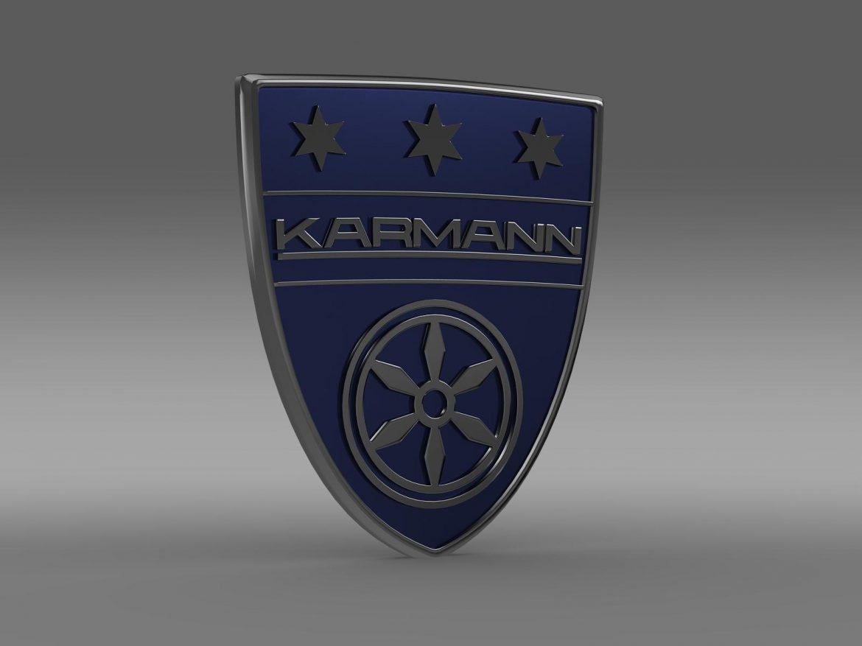 karmann logo 3d model 3ds max fbx c4d lwo ma mb hrc xsi obj 163046
