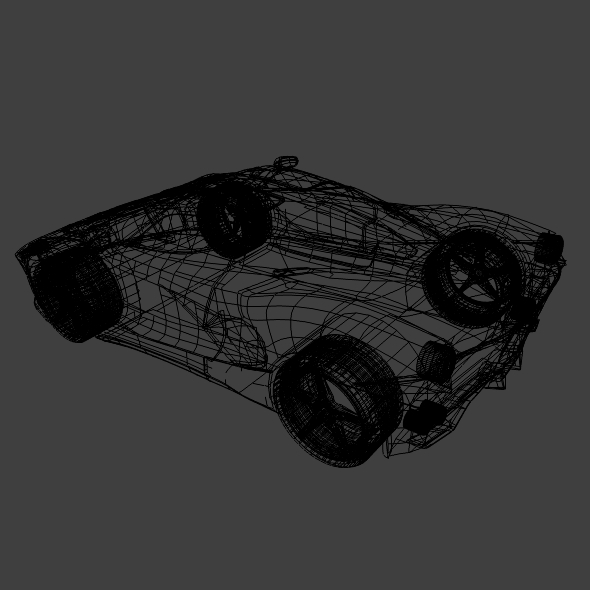 la ferrari hybrid sportski automobil 3d model 3ds fbx mješavina obj 156296