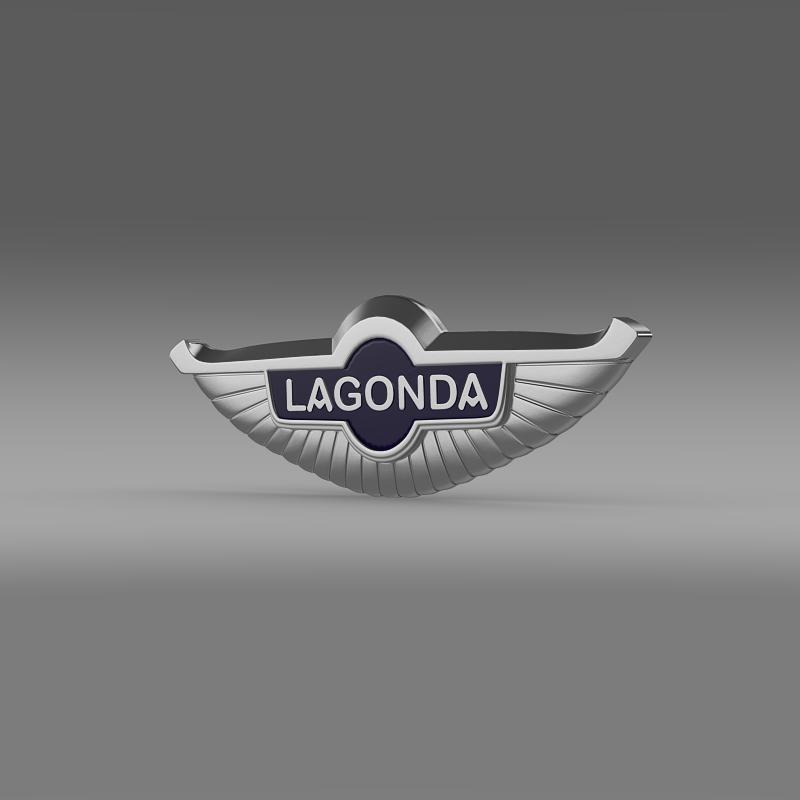 lagonda logo 3d model 3ds max fbx c4d lwo ma mb hrc xsi obj 150477