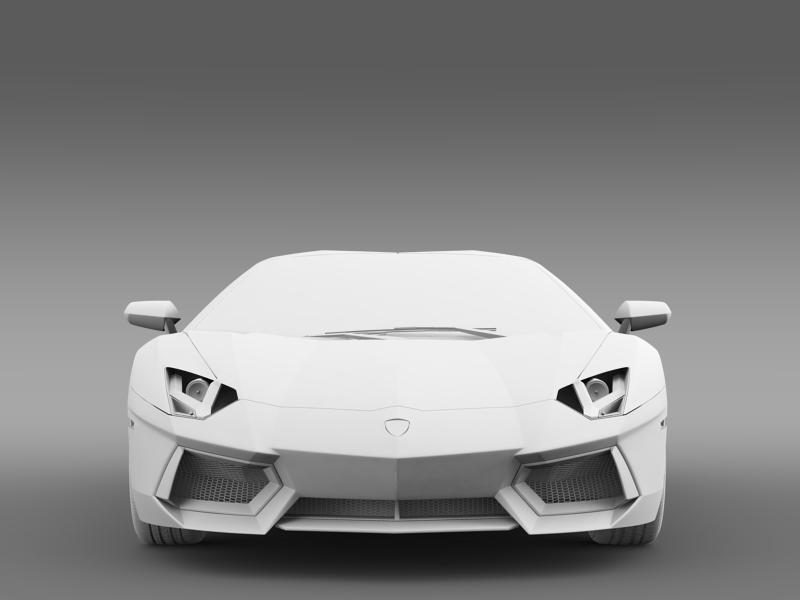 lamborghini aventador lp 700 4 roadster 3d model 3ds max fbx c4d lwo ma mb hrc xsi obj 160672