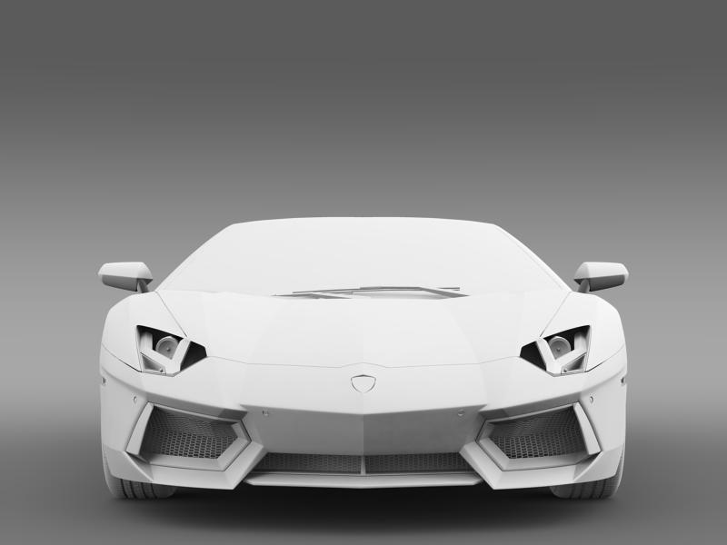 lamborghini aventador lp 700 4 roadster us spec 3d model 3ds max fbx c4d lwo ma mb hrc xsi obj 160815