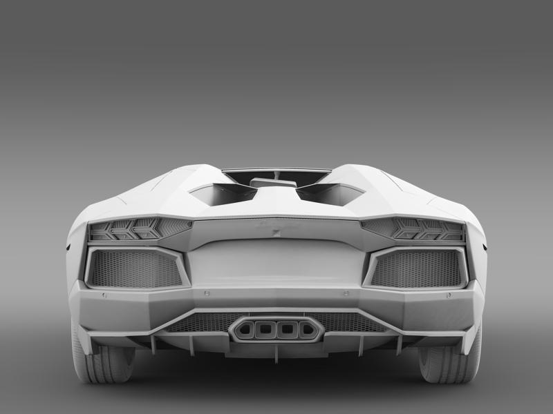 lamborghini aventador lp 700 4 roadster us spec 3d model 3ds max fbx c4d lwo ma mb hrc xsi obj 160816