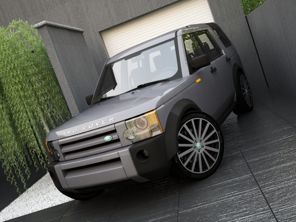land rover discovery lr3 3d model 3ds max other texture obj 119583