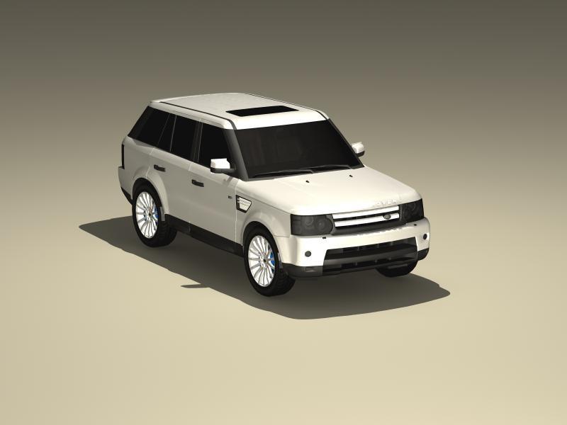 land rover range rover sport hse 3d model 3ds max fbx obj 147901