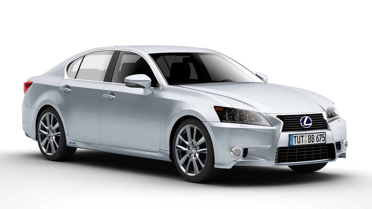 lexus gs 450h 3d model 3ds max fbx c4d le do thoil 158880