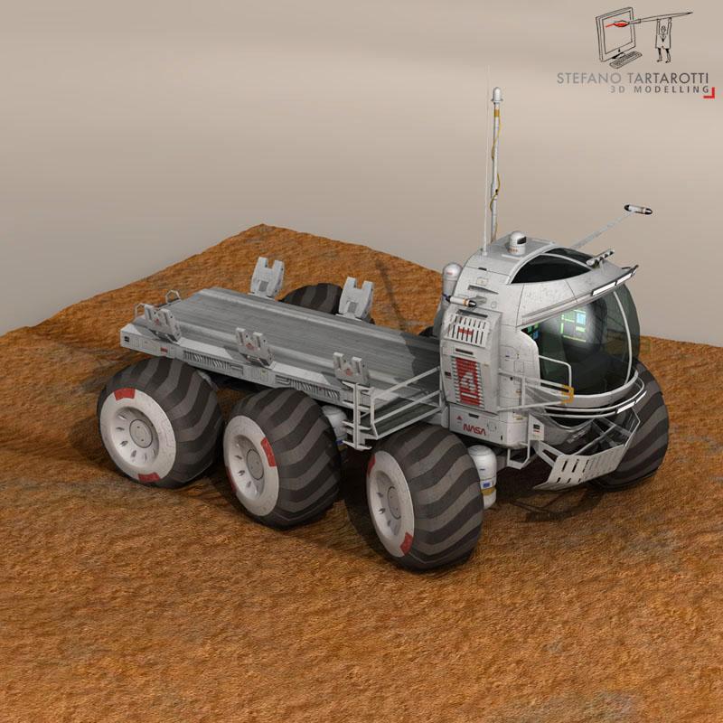 lunar vehicles collection 3d model 3ds dxf fbx c4d obj 142106