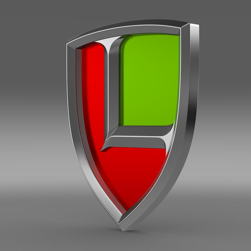 lyonheart logo 3d model 3ds max fbx c4d lwo ma mb hrc xsi obj 155287