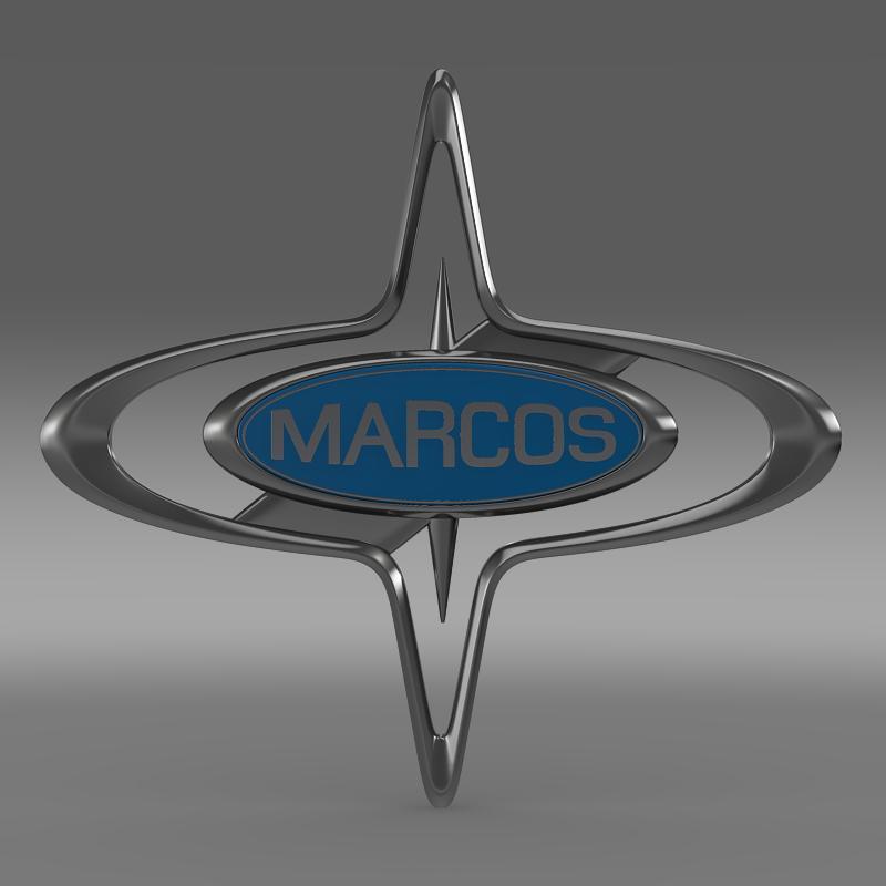 marcos logo 3d model 3ds max fbx c4d lwo ma mb hrc xsi obj 133852