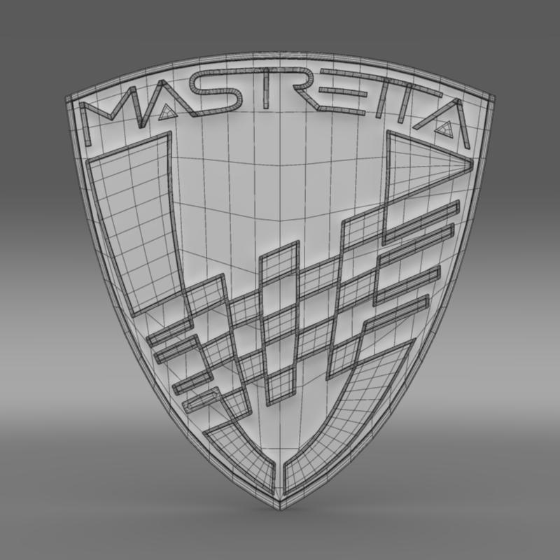 Mastretta Logo 3D Model