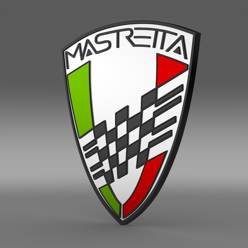 Buy Mastretta Logo 3D Model