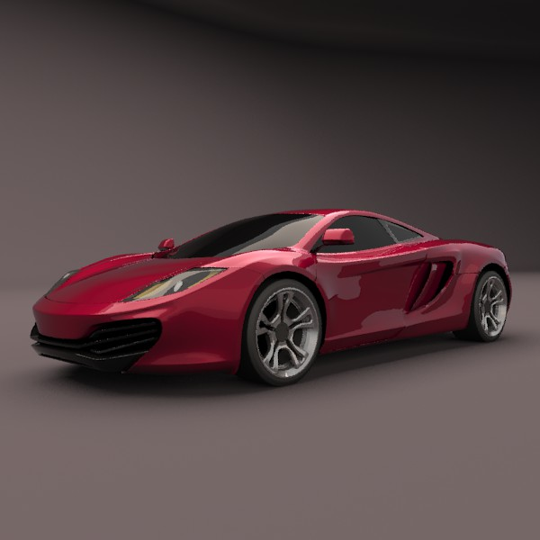 mclaren mp4-12c restyled 3d model 3ds fbx blend lwo obj 138010