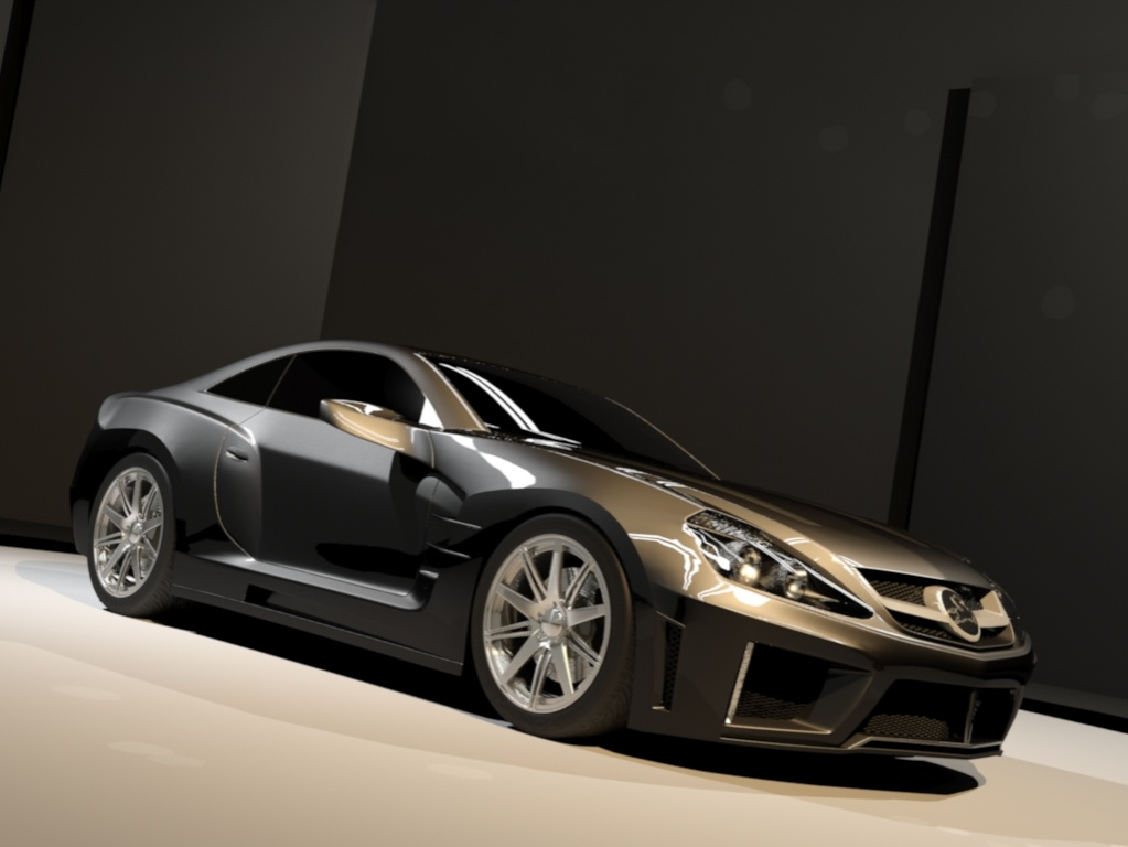 mercedes benz carlsson c25 3d model 3ds max 130950