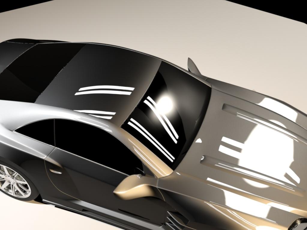 mercedes benz carlsson c25 3d model 3ds max 130954