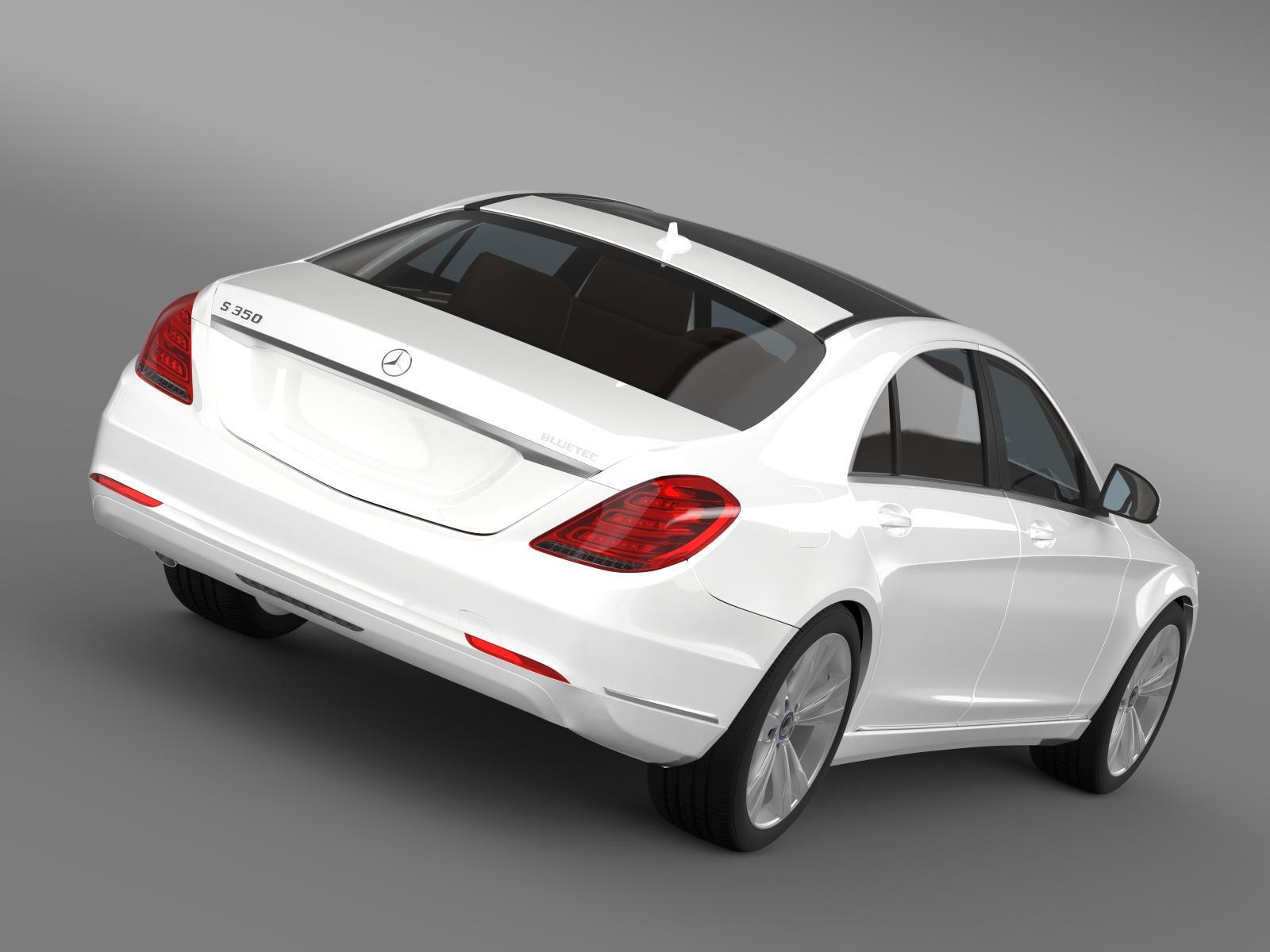 Mercedes benz s 350 bluetec w222 2013 3d model buy for Buy a mercedes benz