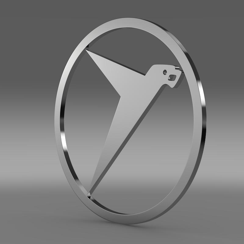 messerschmitt logo 3d model 3ds max fbx c4d lwo ma mb hrc xsi obj 162758
