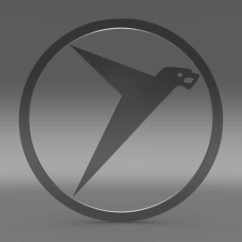 messerschmitt logo 3d model 3ds max fbx c4d lwo ma mb hrc xsi obj 162759