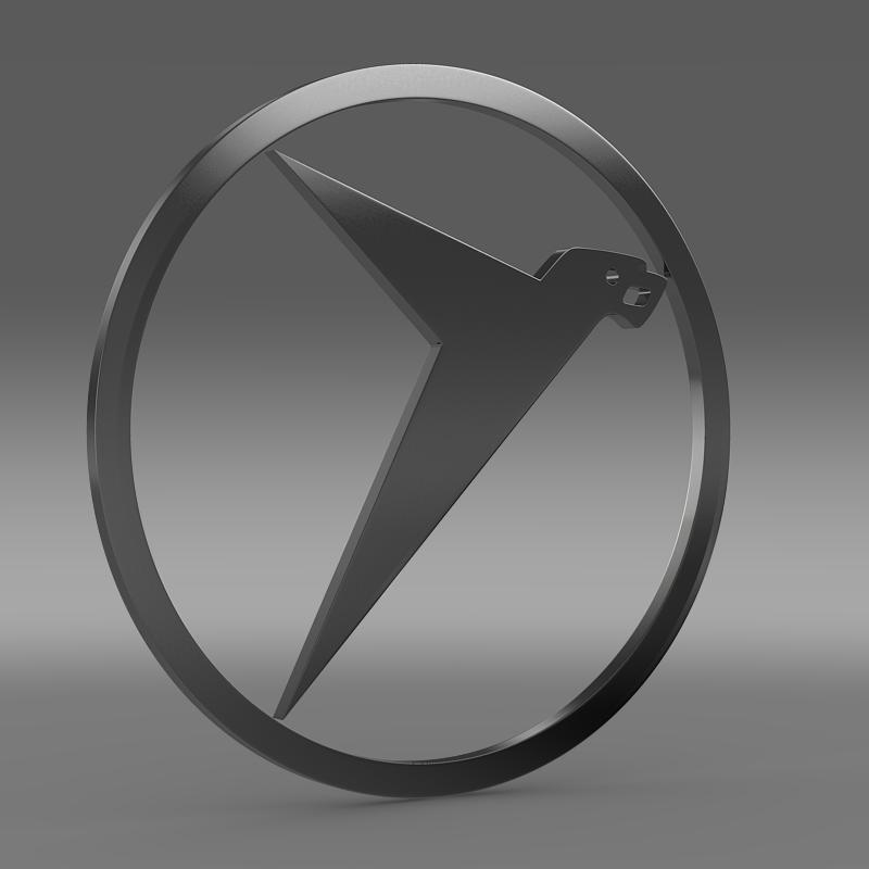 messerschmitt logo 3d model 3ds max fbx c4d lwo ma mb hrc xsi obj 162760