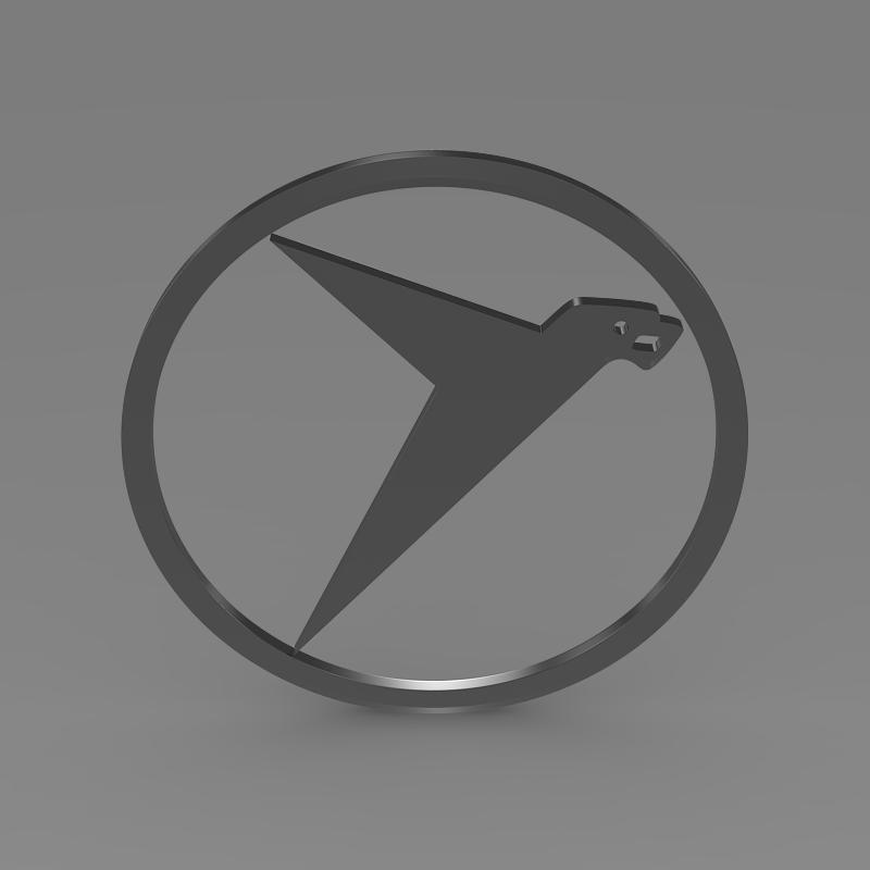 messerschmitt logo 3d model 3ds max fbx c4d lwo ma mb hrc xsi obj 162762