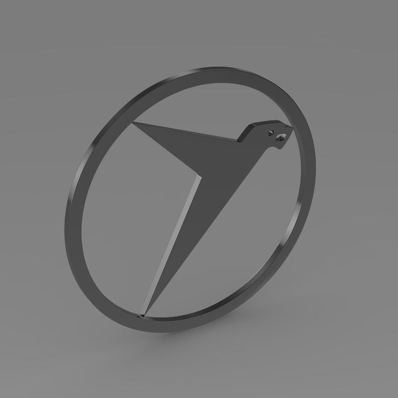 messerschmitt logo 3d model 3ds max fbx c4d lwo ma mb hrc xsi obj 162763