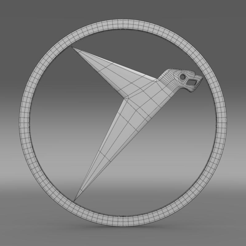 messerschmitt logo 3d model 3ds max fbx c4d lwo ma mb hrc xsi obj 162764