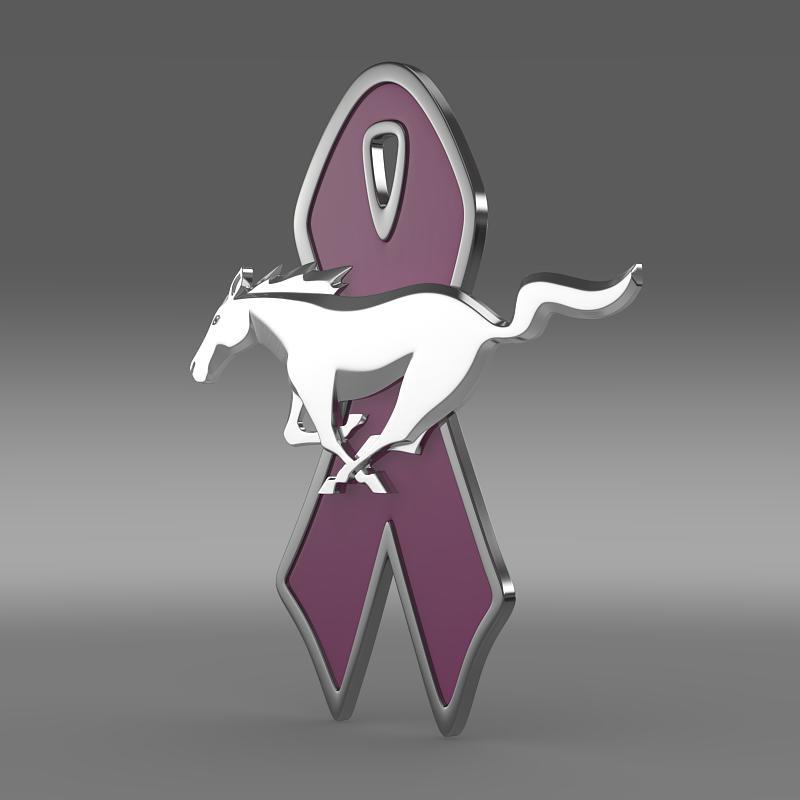 mustang wip 2010 logo 3d model 3ds max fbx c4d lwo ma mb hrc xsi obj 151528