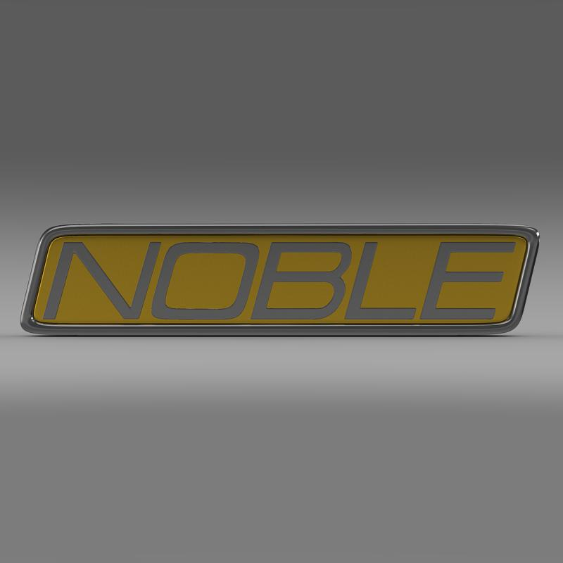 noble logo 3d model 3ds max fbx c4d lwo ma mb hrc xsi obj 133859