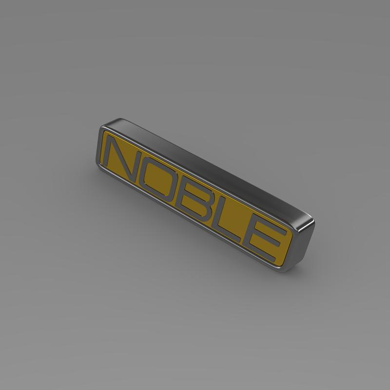 noble logo 3d model 3ds max fbx c4d lwo ma mb hrc xsi obj 133861