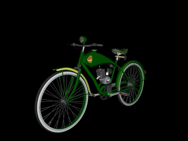 stari bicikl 3d model 3ds 162607