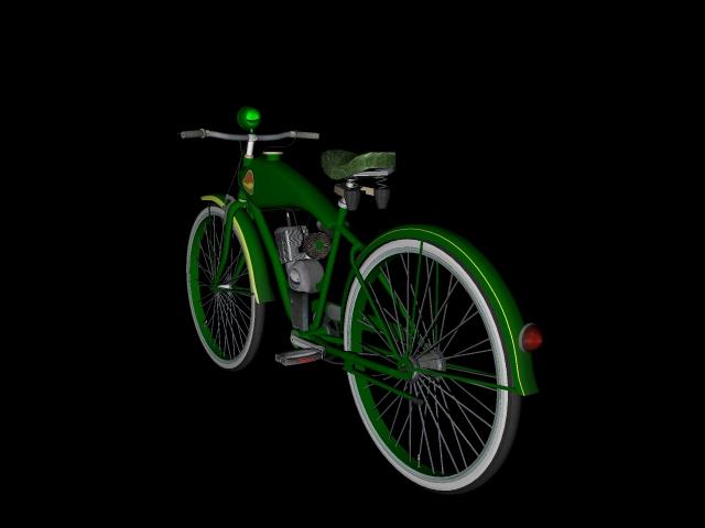 stari bicikl 3d model 3ds 162608