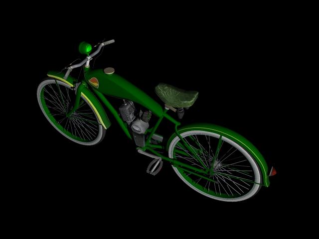 stari bicikl 3d model 3ds 162609