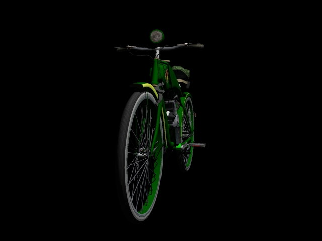 stari bicikl 3d model 3ds 162610