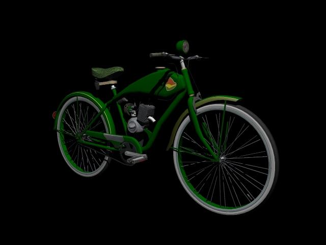 stari bicikl 3d model 3ds 162611