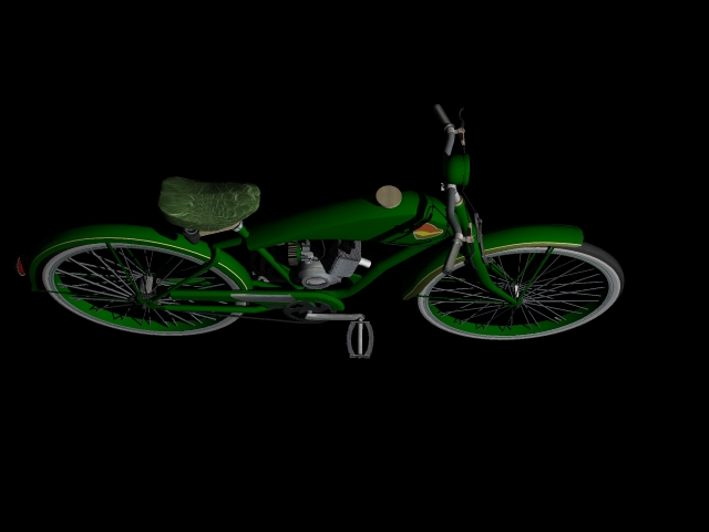 stari bicikl 3d model 3ds 162612