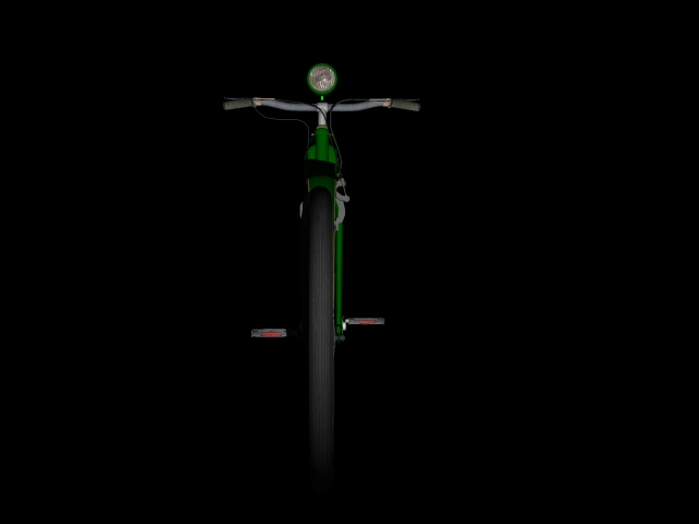 stari bicikl 3d model 3ds 162614