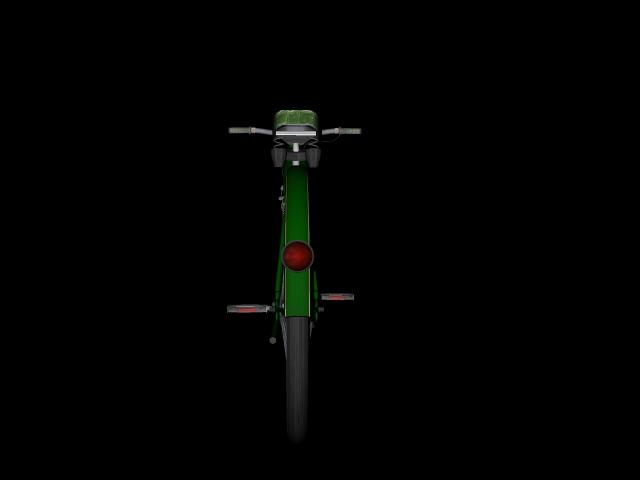 stari bicikl 3d model 3ds 162615