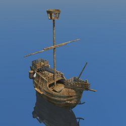 Old miniature Pirate ship ( 29.41KB jpg by hadzi96 )