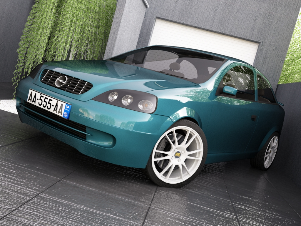 opel astra g 3d model 3ds max jpeg jpg texture obj other 124301