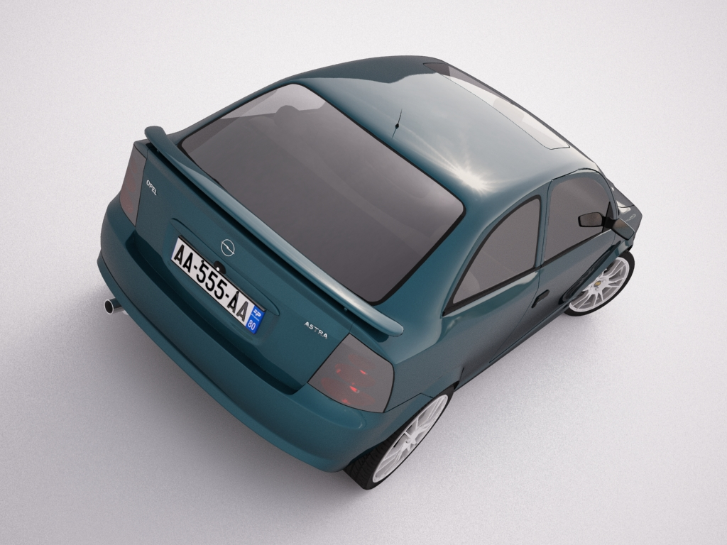 opel astra g 3d model 3ds max jpeg jpg texture obj other 124311