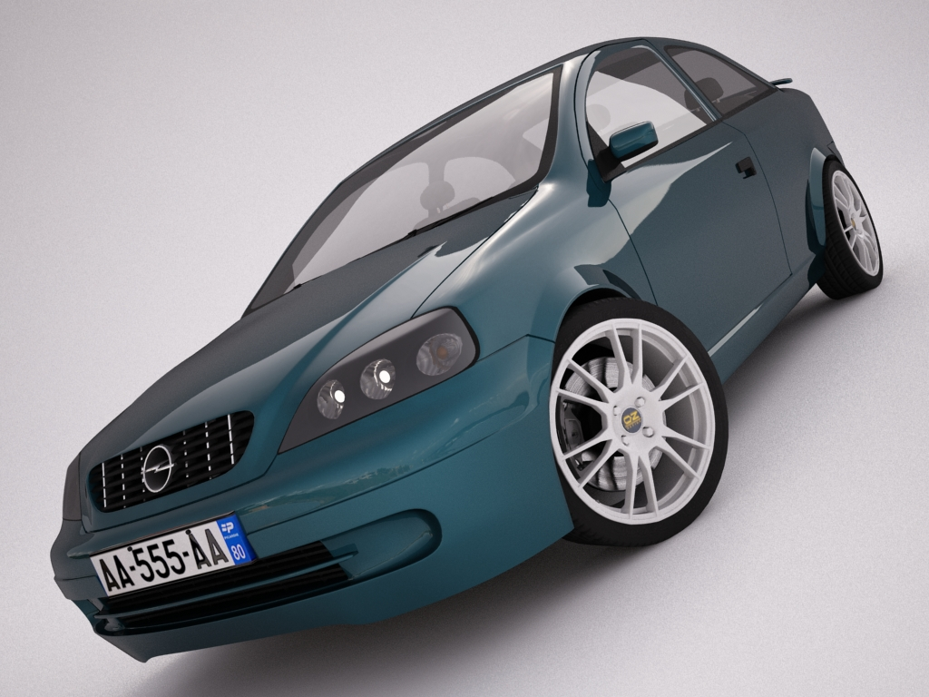 opel astra g 3d model 3ds max jpeg jpg texture obj other 124312