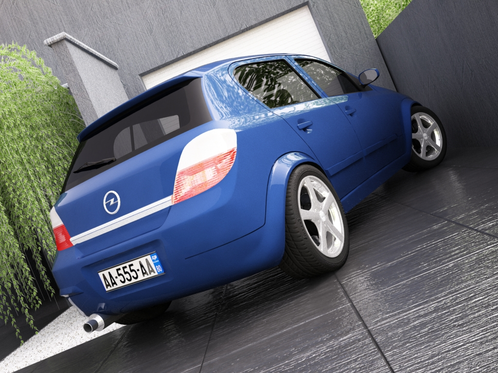 opel astra h 3d model 3ds max dxf jpeg jpg texture obj other 122654