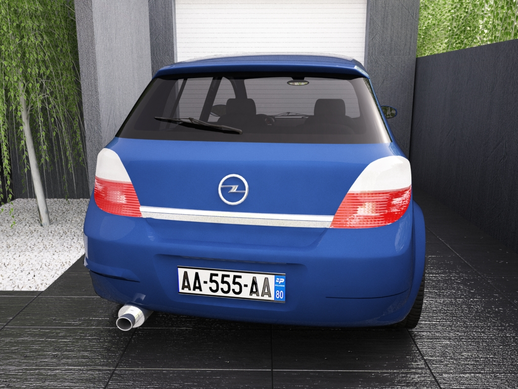 opel astra h 3d model 3ds max dxf jpeg jpg texture obj other 122657