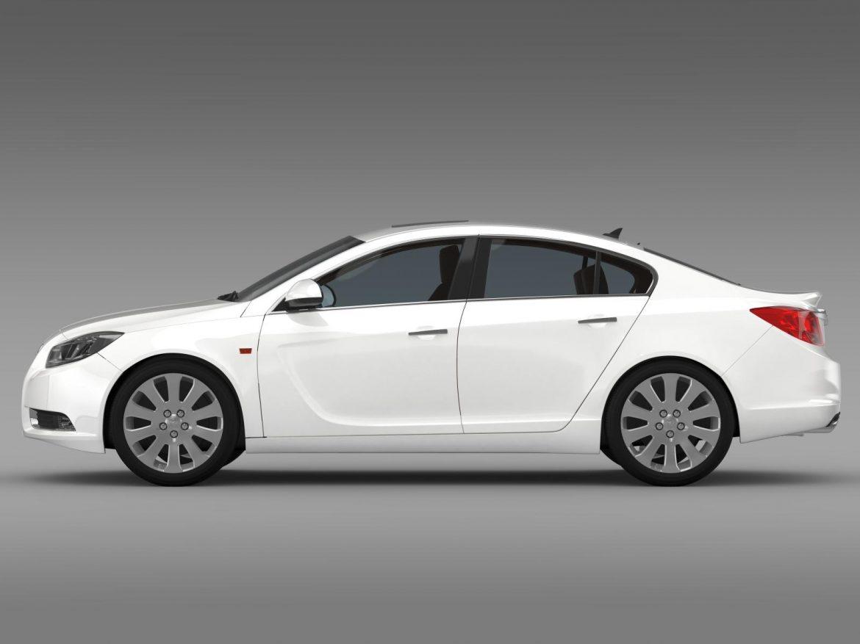 opel insignia hatchback 2008-13 3d model 3ds max fbx c4d lwo ma mb hrc xsi obj 165665