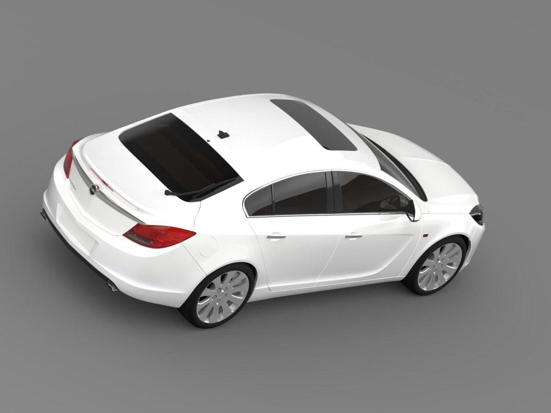 opel insignia hatchback 2008-13 3d model 3ds max fbx c4d lwo ma mb hrc xsi obj 165669