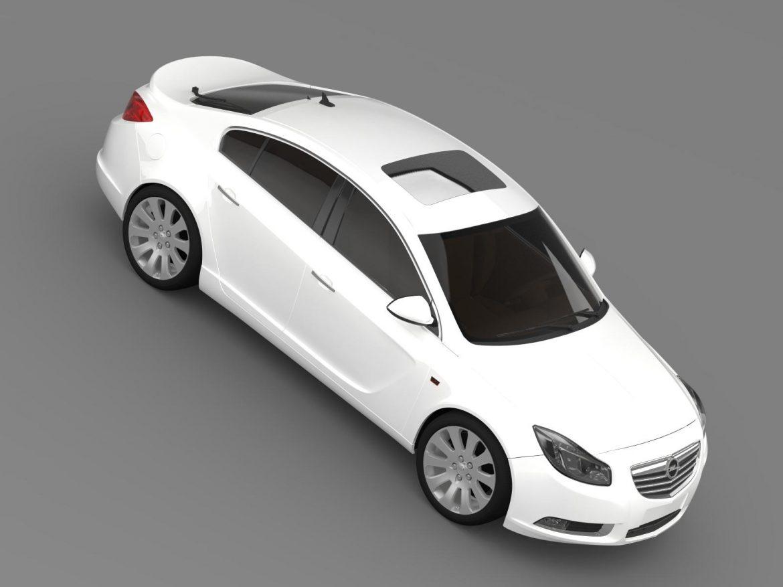 opel insignia hatchback 2008-13 3d model 3ds max fbx c4d lwo ma mb hrc xsi obj 165671