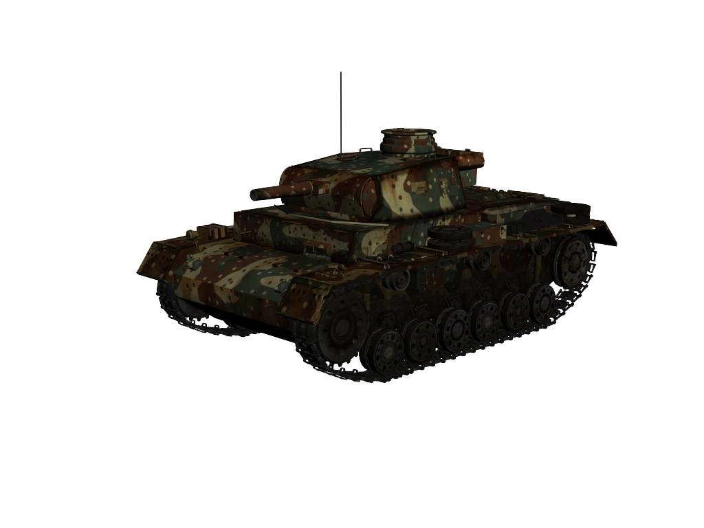 panzer iii ausf.g 3d model max 142009