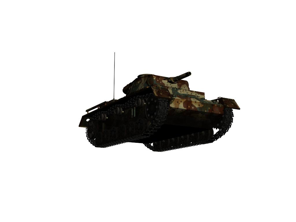 panzer iii ausf.g 3d model max 142012